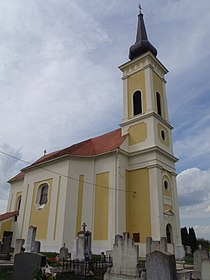 Harasztifalu Szt László király templom 1785.JPG