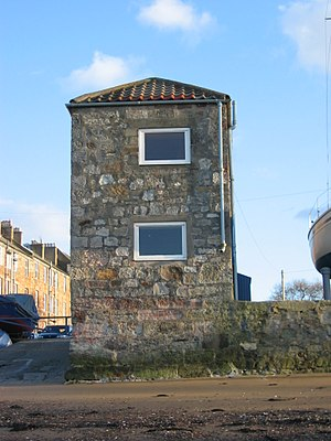 Fisherrow - Image: Harbour Masters Office