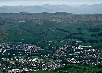 Hardgate - Image: Hardgate from the air (geograph 3988302)