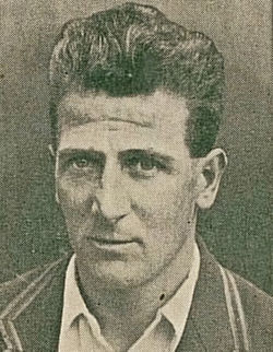 Harold larwood cigarette card crop