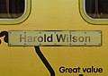 Harold Wilson plate on 507008 at Liverpool Central station.jpg