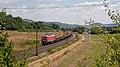 Harrbach DBC 232 669 met spoorstaventrein - Flickr - Rob Dammers.jpg