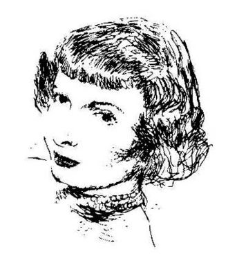 Harriet Frank Jr. - Frank as depicted in Amazing Stories in 1953