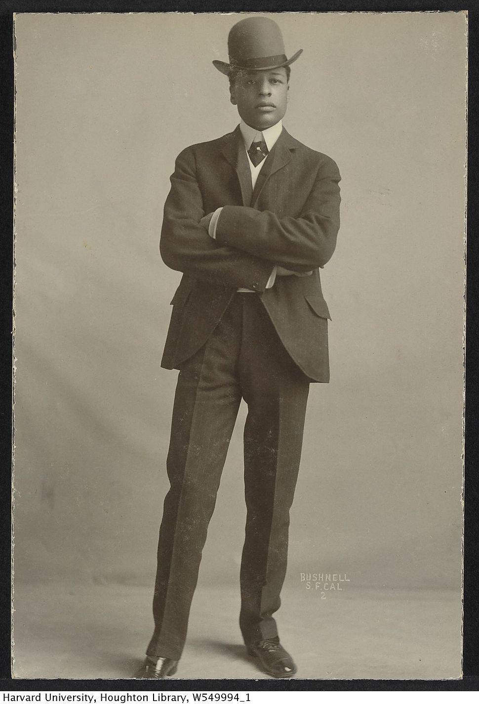 Harvard Theatre Collection - Bert Williams TCS 1.1120