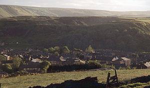 Haslingden - Image: Haslingden hills