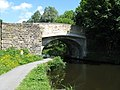 Hawk's House Bridge 136, Leeds and Liverpool Canal, Reedley - geograph.org.uk - 842735.jpg