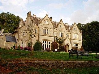Hawkwood College grade II listed building in the United kingdom