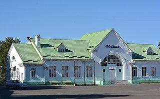 Haivoron City in Kirovohrad Oblast, Ukraine