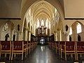 Heeswijk abdij Berne, Rijksmonument 520574 abdijkerk interieur, schip.JPG