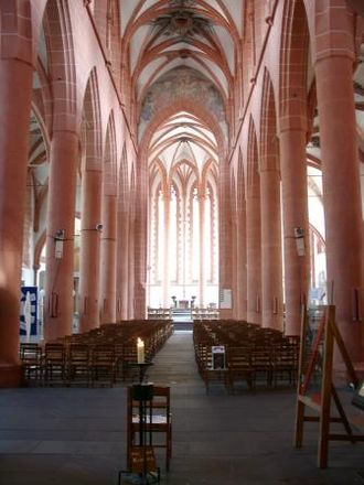 Church of the Holy Spirit, Heidelberg - The interior of the church