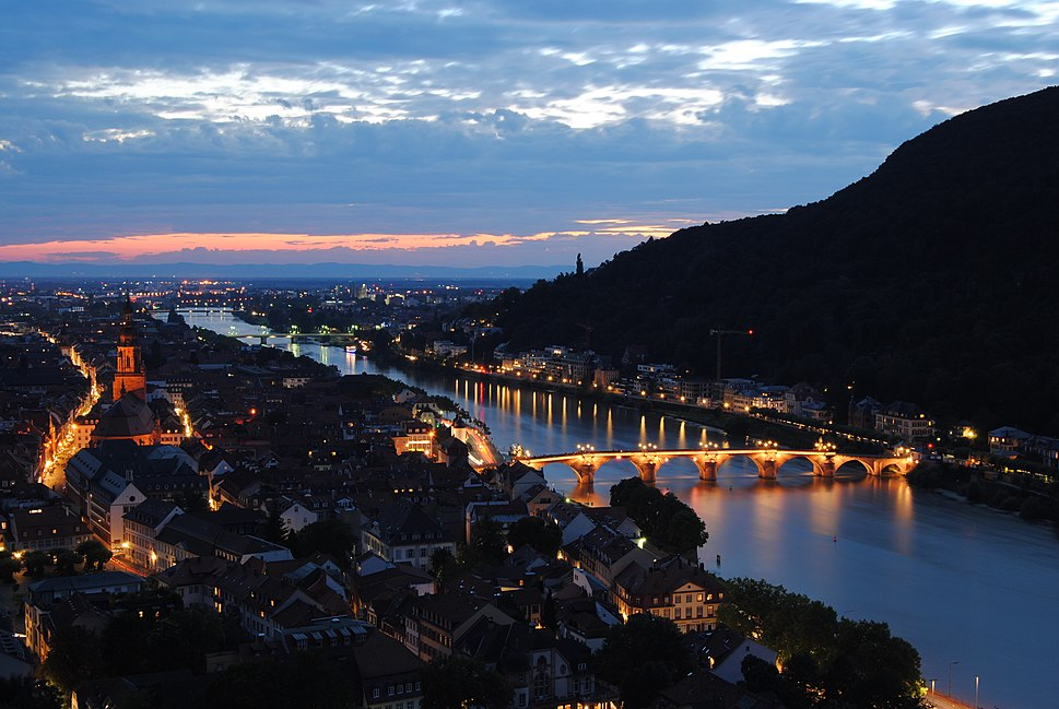 Heidelberg night