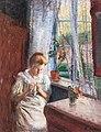 Heinrich Stegemann Mädchen am Fenster 1908.jpg