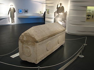 Tombs of the Kings (Jerusalem) - Sarcophagus of Helena of Adiabene, Israel Museum