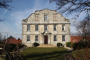 Hellaby - Hellaby Hall, built in the late 17th century
