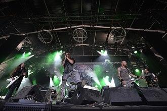 Equilibrium (band) - Equilibrium at Hellfest in 2017.