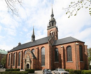 Church of the Holy Ghost, Copenhagen - Image: Helligaandskirken Copenhagen corrected
