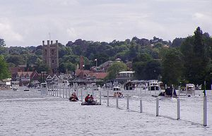A race taking place at the 2004 regatta