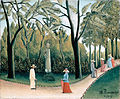 Henri Rousseau - The Luxembourg Gardens. Monument to Shopin.jpg