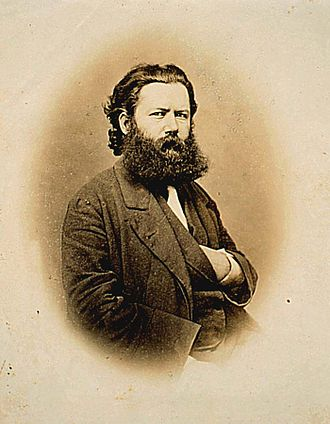 Well-made play - Henrik Ibsen as a young man