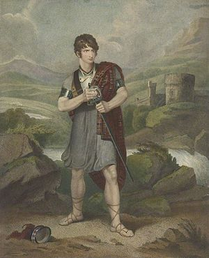 Douglas (play) - Portrait of Henry Erskine Johnston (1777–1830?), Scottish actor, in the title role of Douglas