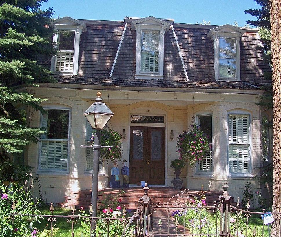 Henry Webber House, Aspen, CO
