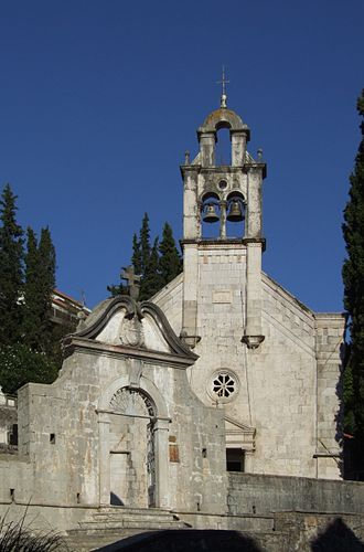 Herceg Novi - Church Sv. Spas (Holy Salvation) in Topla