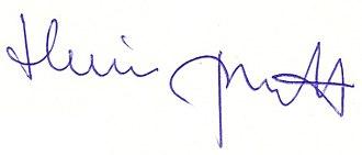 Heribert Prantl - Image: Heribert Prantl signature