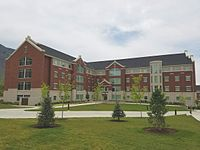 Photograph of Building 15 in Heritage Halls.