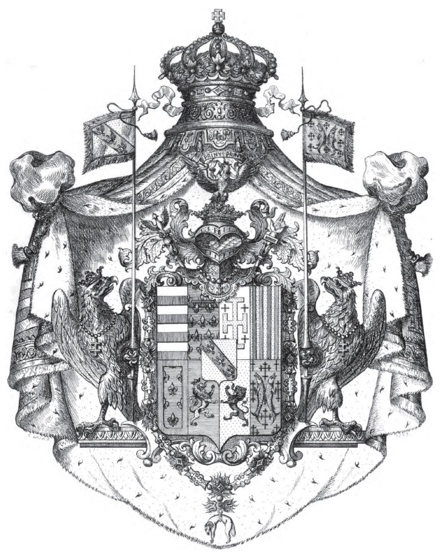 Herzogtum Lothringen wappen 1697