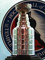 Der Stanley Cup in der Hockey Hall of Fame