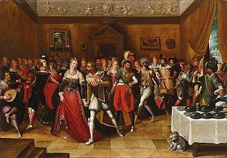 Hieronymus Francken II - Festive Company
