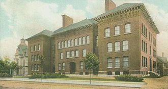 Malden, Massachusetts - Malden High School c. 1906