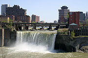 High Falls during the summer
