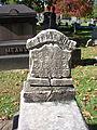 Hill (Illegible), Lebanon Church Cemetery, 2015-10-23, 01.jpg