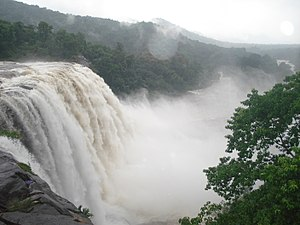 Athirappilly Falls - During rainy season
