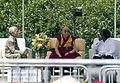 His Holiness the Dalai Lama with Geshe Thupten Jinpa and Whoopi Goldberg.jpg