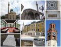 Historical Monuments in Prishtina, Kosovo.png