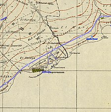 Historical map series for the area of al-Samakiyya (1940s with modern overlay).jpg