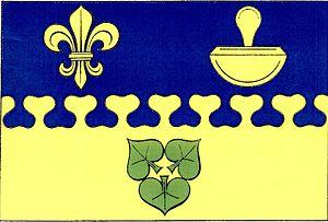 Hodíškov - Image: Hodíškov flag