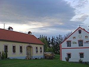Holašovice - Image: Holašovice Historic Village 112776