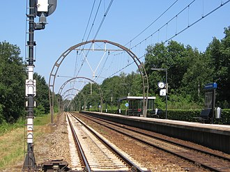 Hollandsche Rading railway station - Image: Hollandsche Rading 17juni 2006 003
