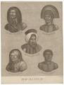 Homo sapiens - div. rassen - 1700-1880 - Print - Iconographia Zoologica - Special Collections University of Amsterdam - UBA01 IZ19400203.tif