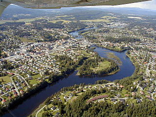 Hønefoss Unincorporated city in Buskerud, Norway