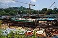 Hong Kong Ocean Park Marriott Hotel under construction in September 2016.jpg