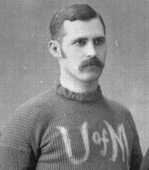 Horace Greely Prettyman - Prettyman from 1885 team photograph