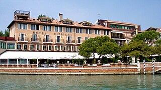 Belmond Hotel Cipriani building in Venice, Italy