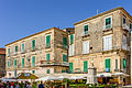 Houses and bust of Pasquale Galluppi - Tropea - Calabria - Italy - July 25th 2013 - 02.jpg