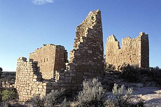 History of Utah - Hovenweep Castle, San Juan River basin