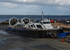 Hovercraft undergoing maintenance at Ryde Terminal.jpg