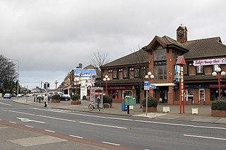 Killester suburb of Dublin